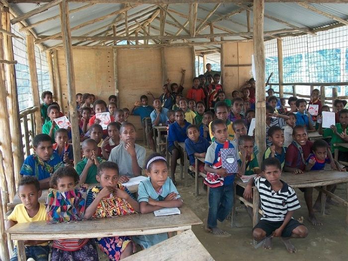 Does this kids need solar powered kits? I think they need a better classroom.