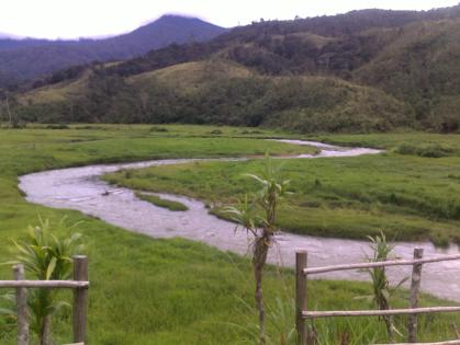 Selelangapa - This is Vanapa River in its infant stages - Woitape