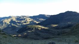 Early Morning Sunrise - Mt Albert Edward