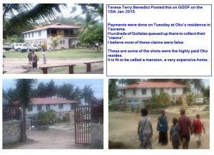 Mr Hoko Asi's Residence at Taurama