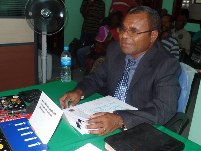 Member Elect - Hon Wiliam Samb