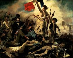 Liberty Leading the People- by  Eugène Delacroix