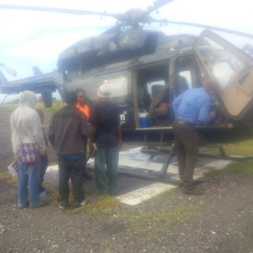 Kataipa Teachers Inducted Before Airlifted - 2016
