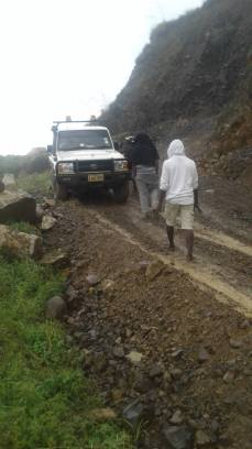 Kaia works at Babu...notorious for vehicles overturning