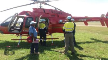 Safety Induction before boarding - RAA Team with Goilala MP