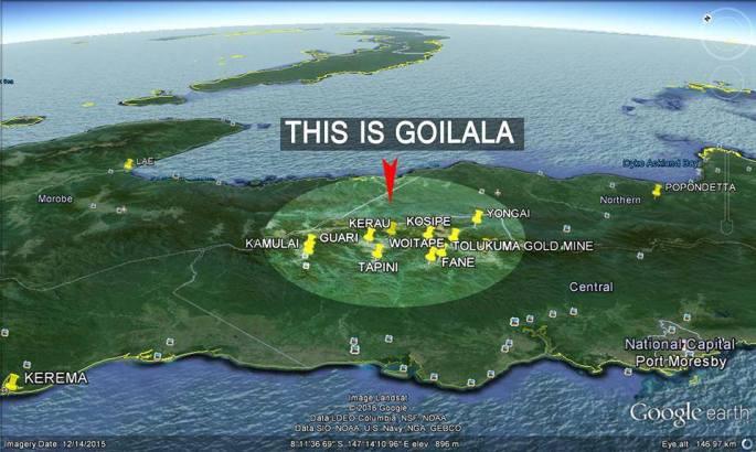 Goilala - Google Earth