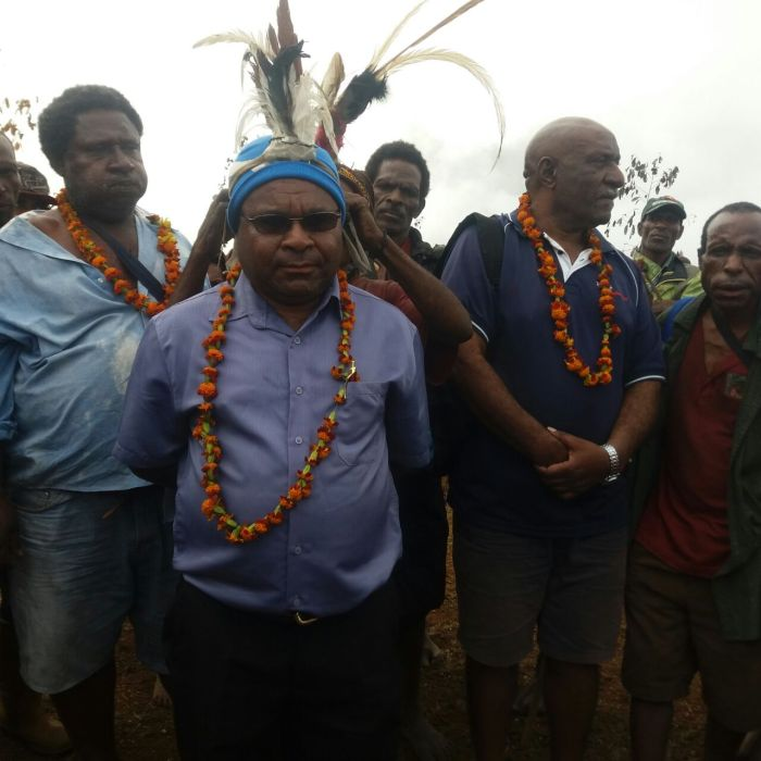 Goilala MP [2015-2017] Crowned in Gagave