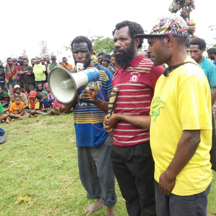 Guari Peace Restoration Ceremony - Gagave