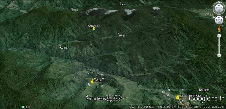 Kailape - Google Map