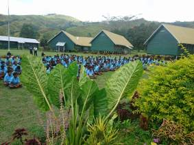 Asembly Ground - Tapini Sacred Heart High School