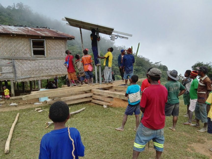 VILLAGERS HAVE ACCESS TO TV – TheNational