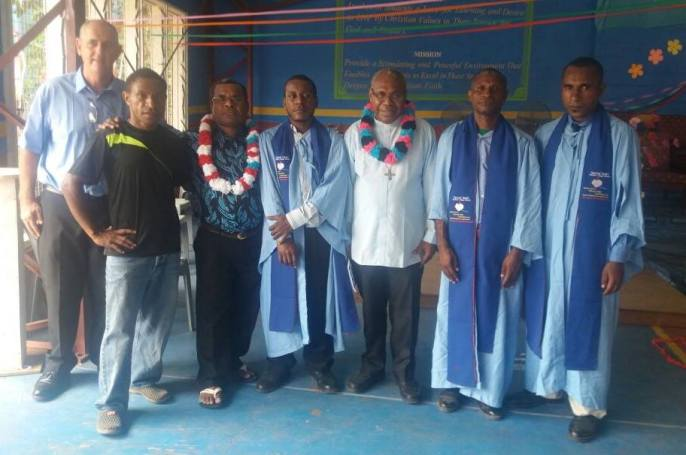 Goilala Students Graduating from Bomama Sacred Heart College - 2016