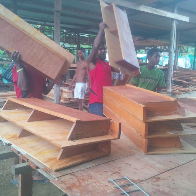 SOPU COMMUNITY SCHOOL GETS DESKS