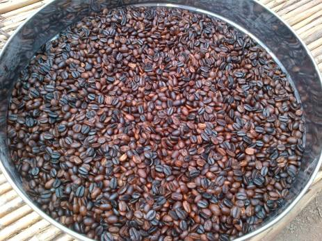 Roasted Coffee - Open Frames