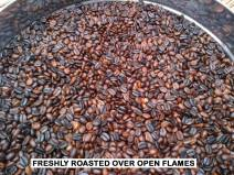 Freshly Roasted over the Open Flames - Bruce Mamando