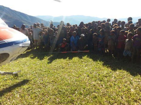 RAA Team Departs Yogani Airstrip for Sopu to continue work on Sopu Airstrip