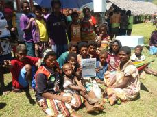 GDDA funded Goilala District Newsletter - Distributed at Yongai