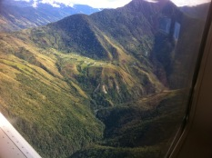 Tapini Station - View from the Plane