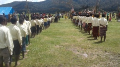 Kosipe Community School Students Parade