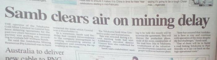 Samb Clears Air on TGM Affair - Asidokona